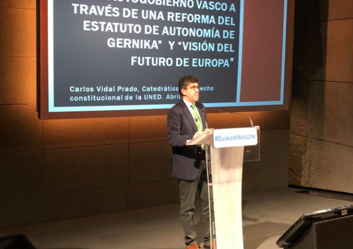 Informe jurídico sobre la propuesta de reforma del Estatuto de Gernika